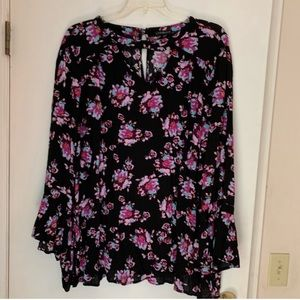 💙3 for $20💙 lane Bryant long sleeve blouse